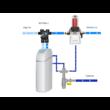 Csatorna csatlakozó egység vízlágyítóhoz